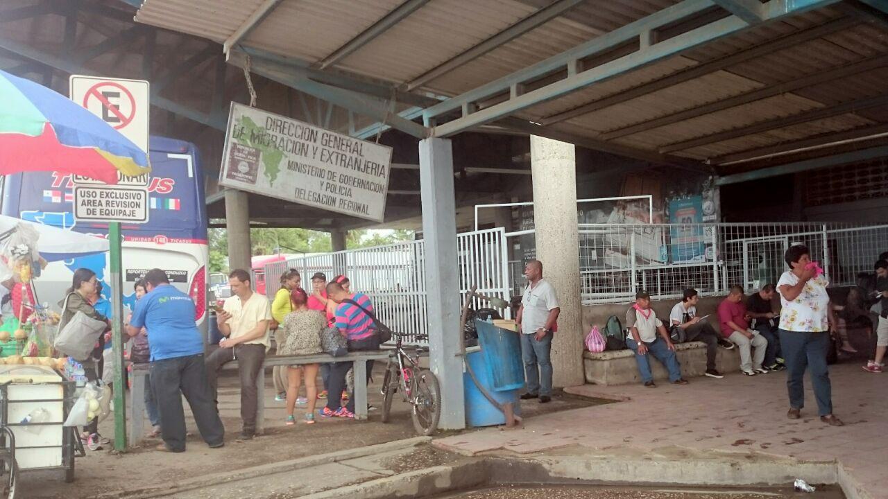 Panama - Costa Rica border