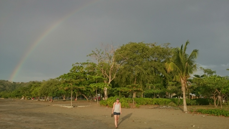 Rainbow on Playa del Coco